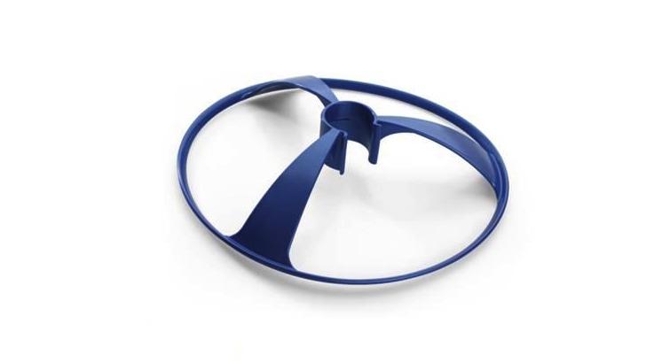 ADJ deflector wheel